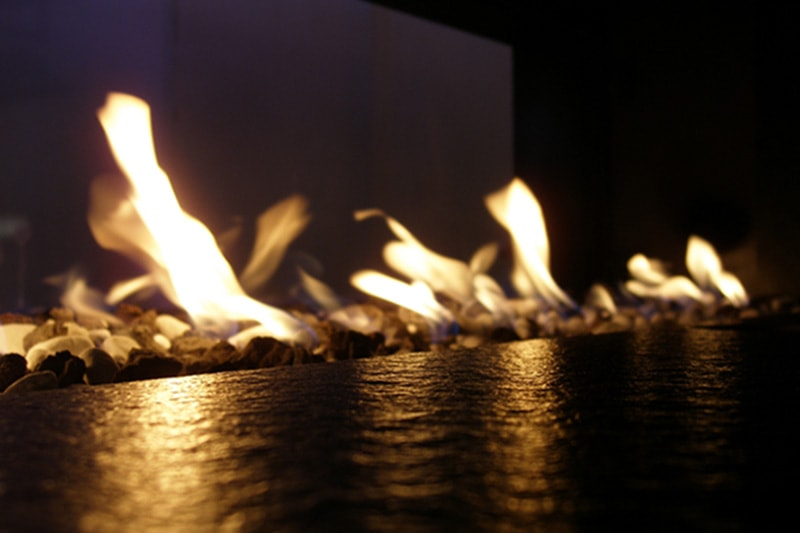 flames, Beauty, Convenience, and Care of Gas Fireplaces